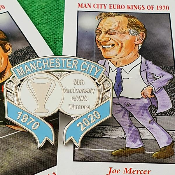 50th Year Anniversary European Cup  Pin Badge