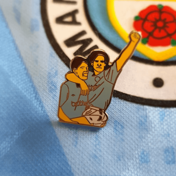 89 Derby Winners  Celebration Pin Badge