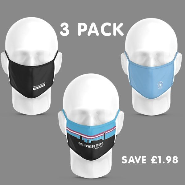 Adult -3 Pack City Face Coverings