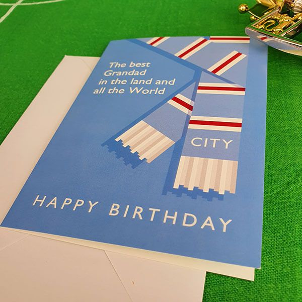Best Grandad in the Land City Birthday Card
