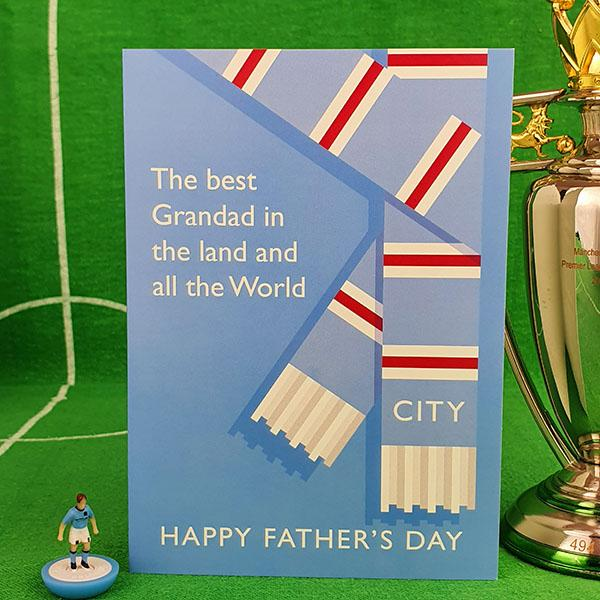 Best Grandad in the Land Father's Day Card