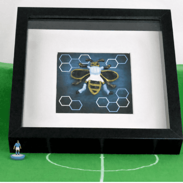 Ceramic  City Blue Bee