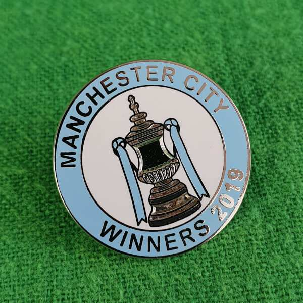 Cup Winners 2019 Pin Badge