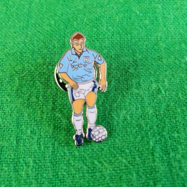 Georgi Kinkladze Dribble Pin Badge