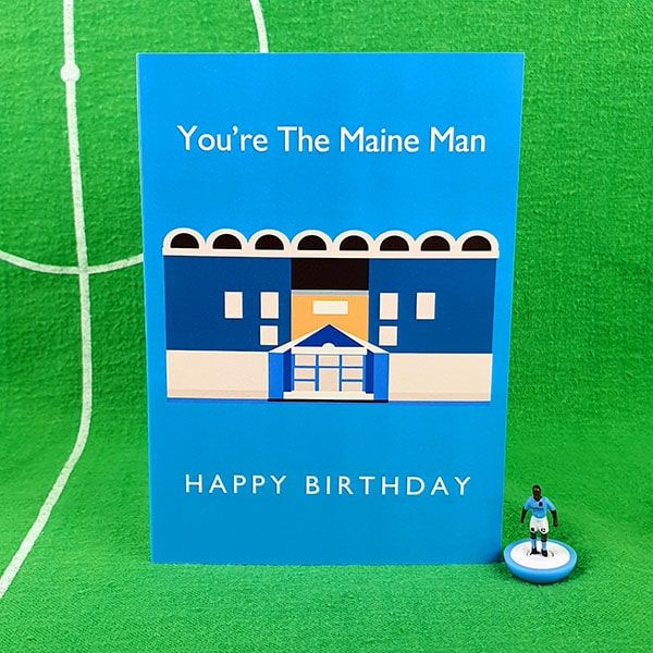 Maine Man Birthday Card