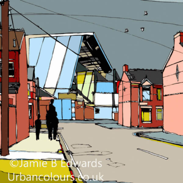 Maine Road Kippax Street