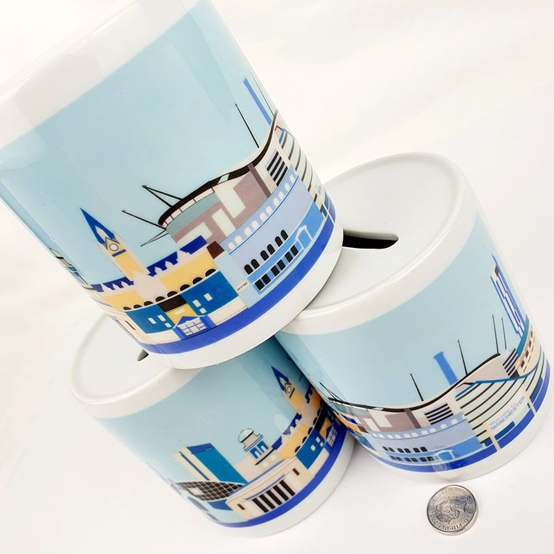 Manchester Skyline Money Box