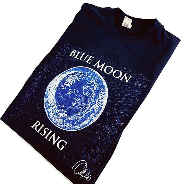 Navy Blue Moon Rising T-shirt