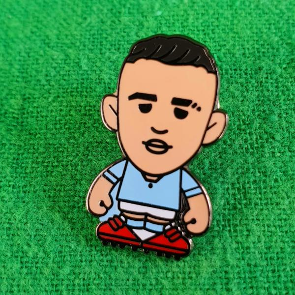 Phil Foden Pin Badge