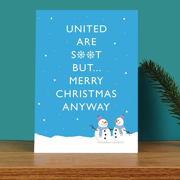 United Are S**t Christmas Card
