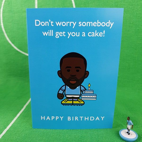 Yaya Birthday Cake Card