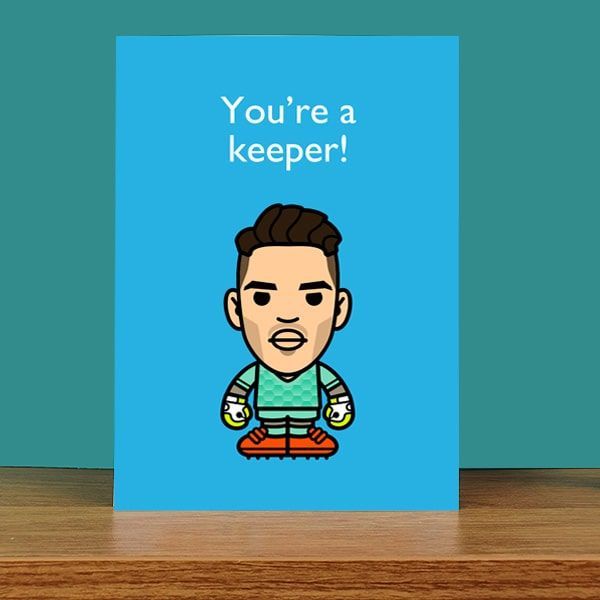 You're a Keeper Card