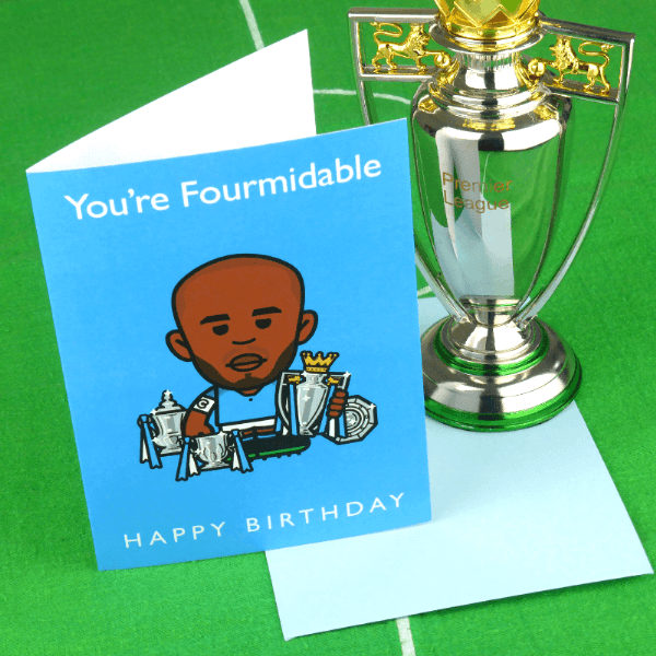 Your FOURmidable City Birthday Card
