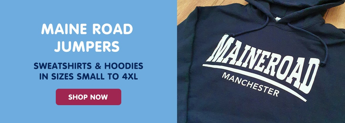 Manchester City jumpers | Maine Road jumper