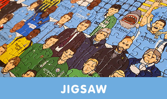 Manchester City jigsaw