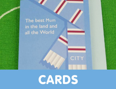 Manchester City birthday cards