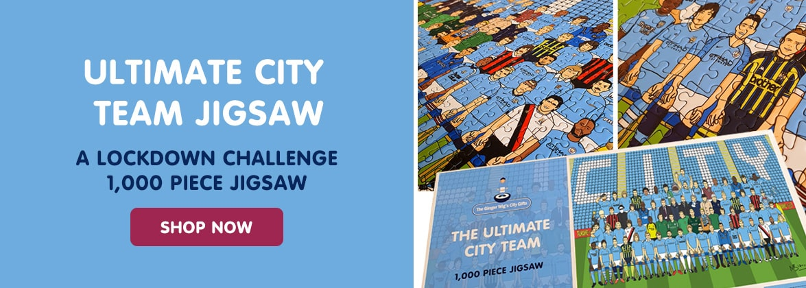 Manchester City jigsaw | Manchester City gift ideas