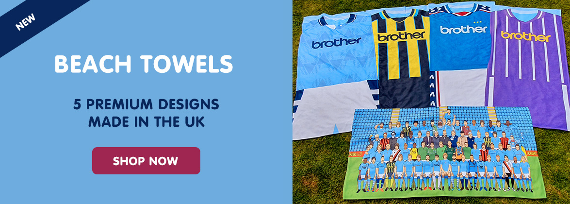 Manchester City towels